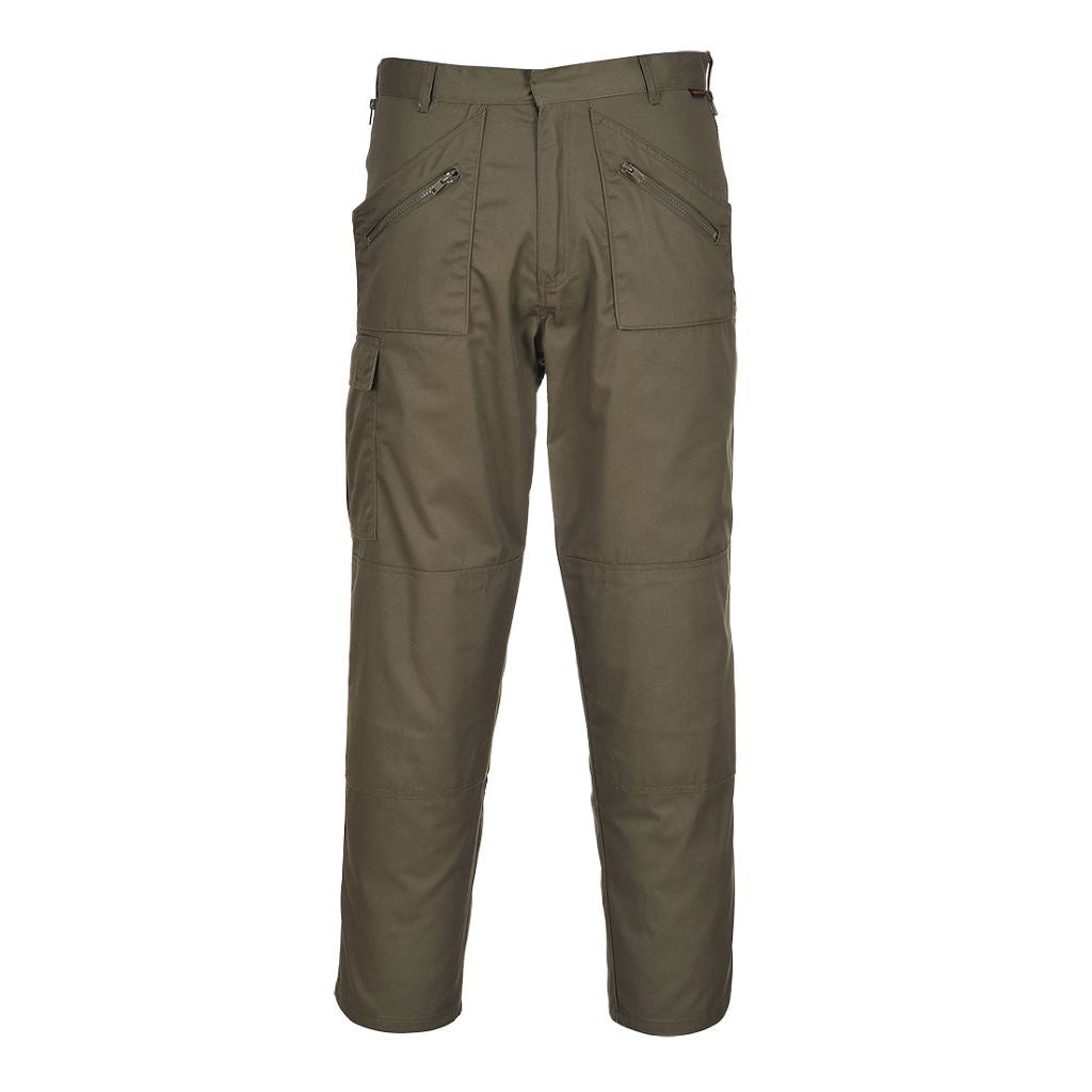 Action Trousers S887 Olive