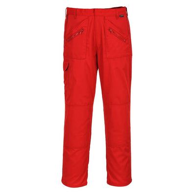 Action Trousers S887 Red