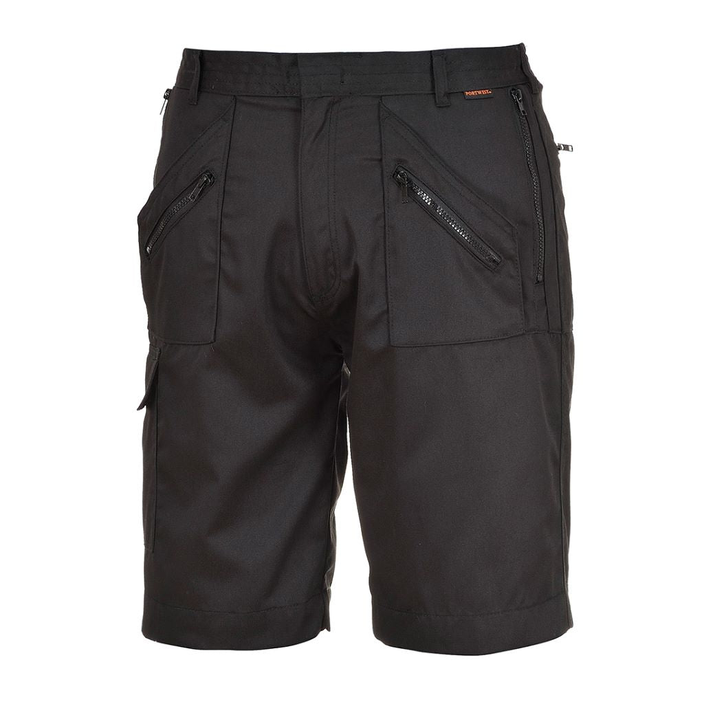 Action Shorts S889 Black