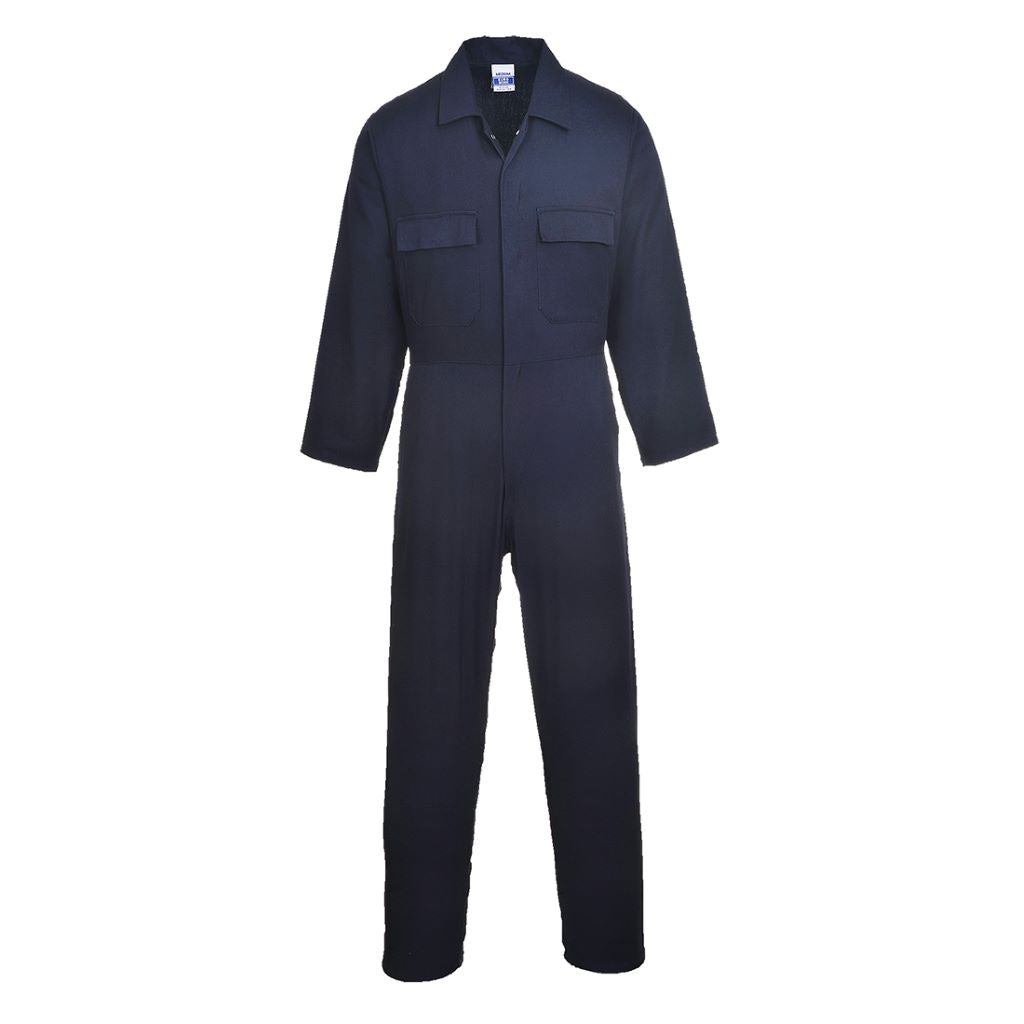 Euro Cotton Boilersuit S998 Navy