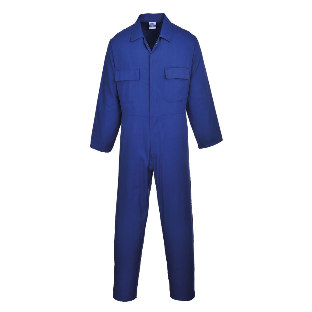 Euro Cotton Boilersuit S998 Royal