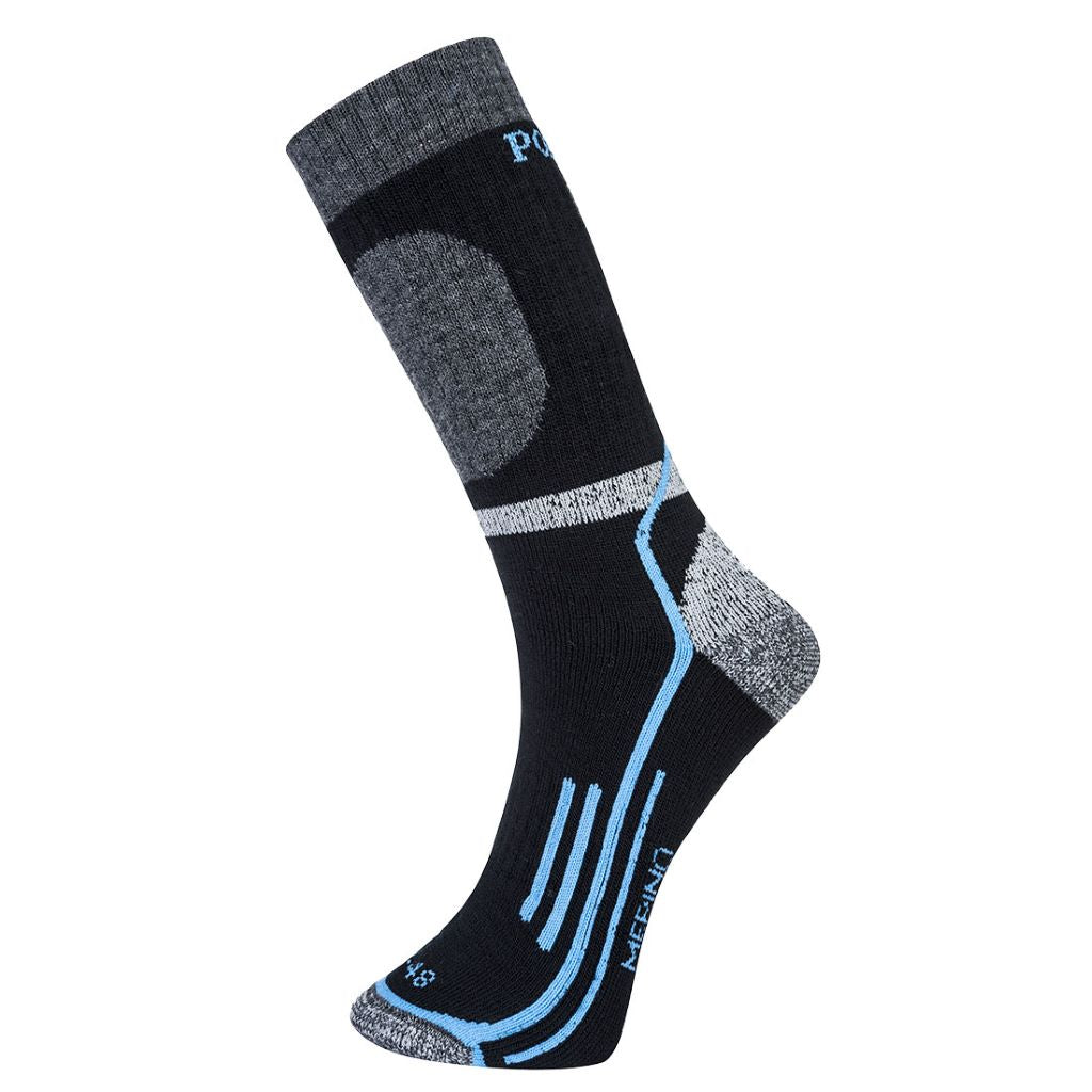 Winter Merino Sock SK34 Black