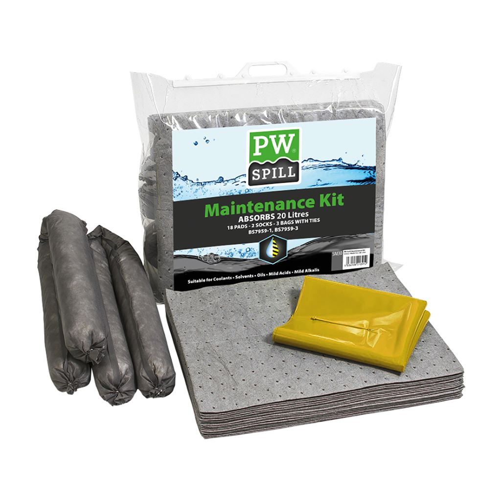 Spill Maintenance Kit 20L  Pk6 SM30 Grey