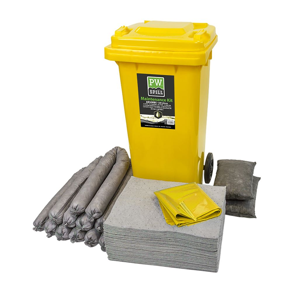 Spill 120L Maintenance Kit SM33 Grey