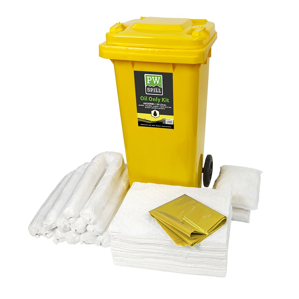 Spill 120L Oil Only Kit SM63 White