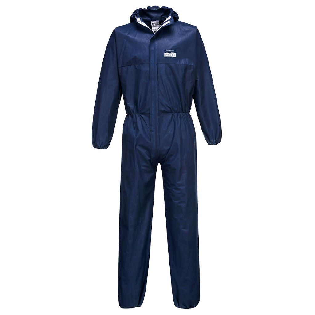 Biztex Coverall SMS 55g (50pc) ST30 Navy