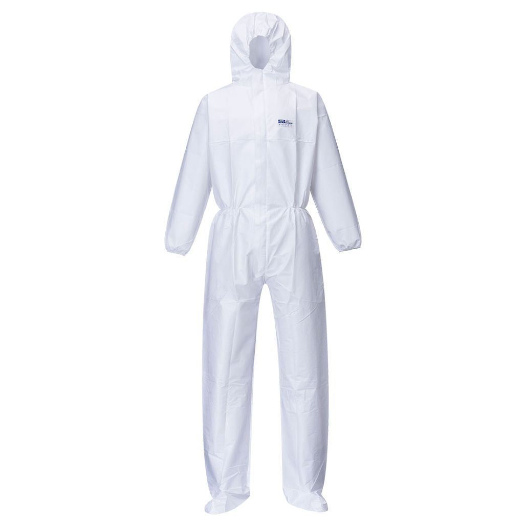 BizTex Booted Coverall (50pcs) ST41 White