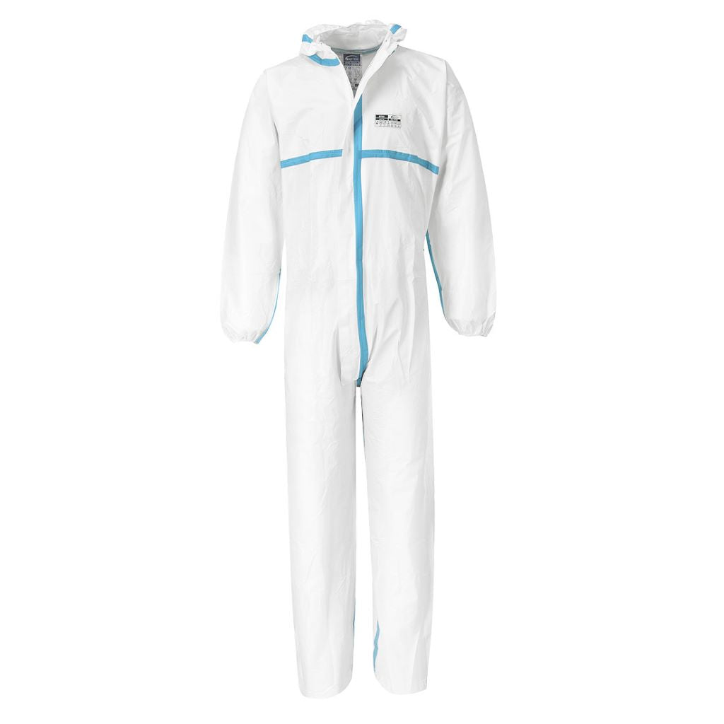 Biztex 4/5/6 Coverall (50pcs) ST60 White
