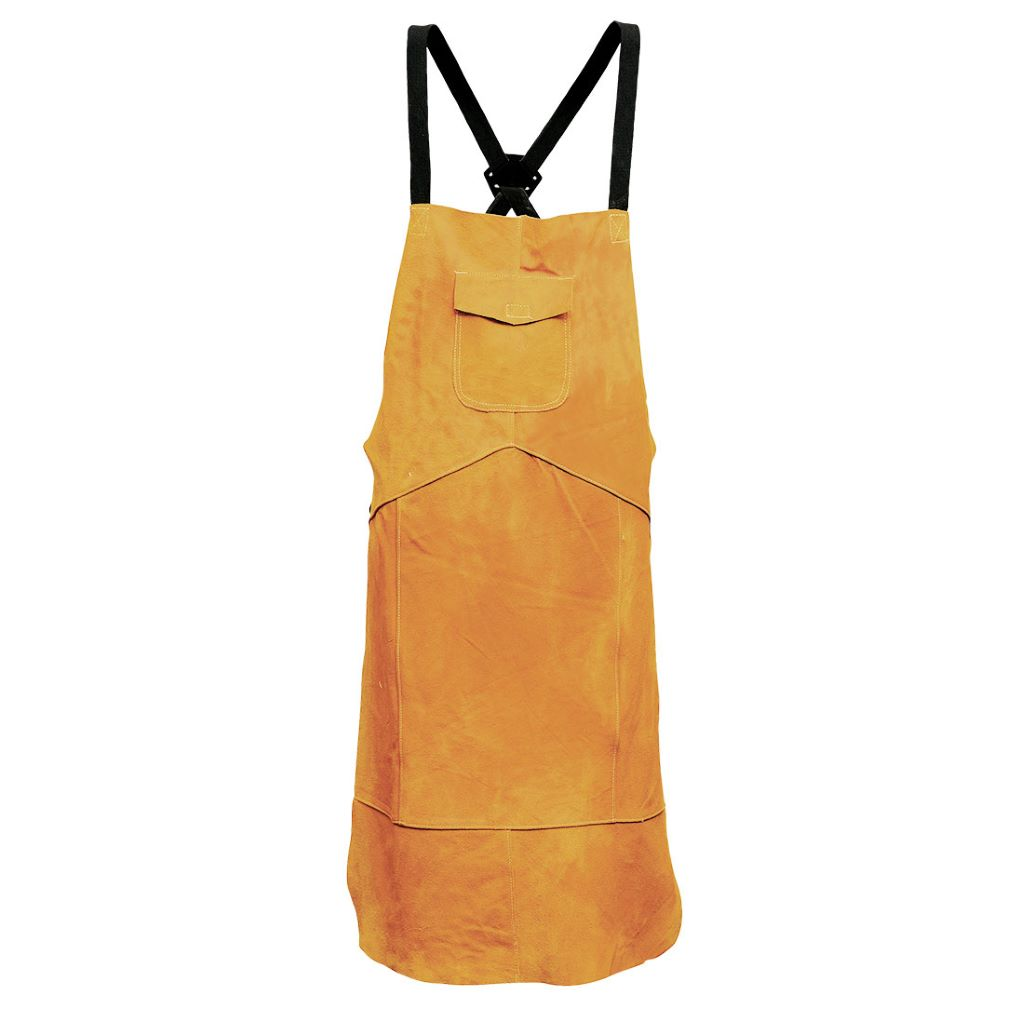 Leather Welding Apron SW10 Tan
