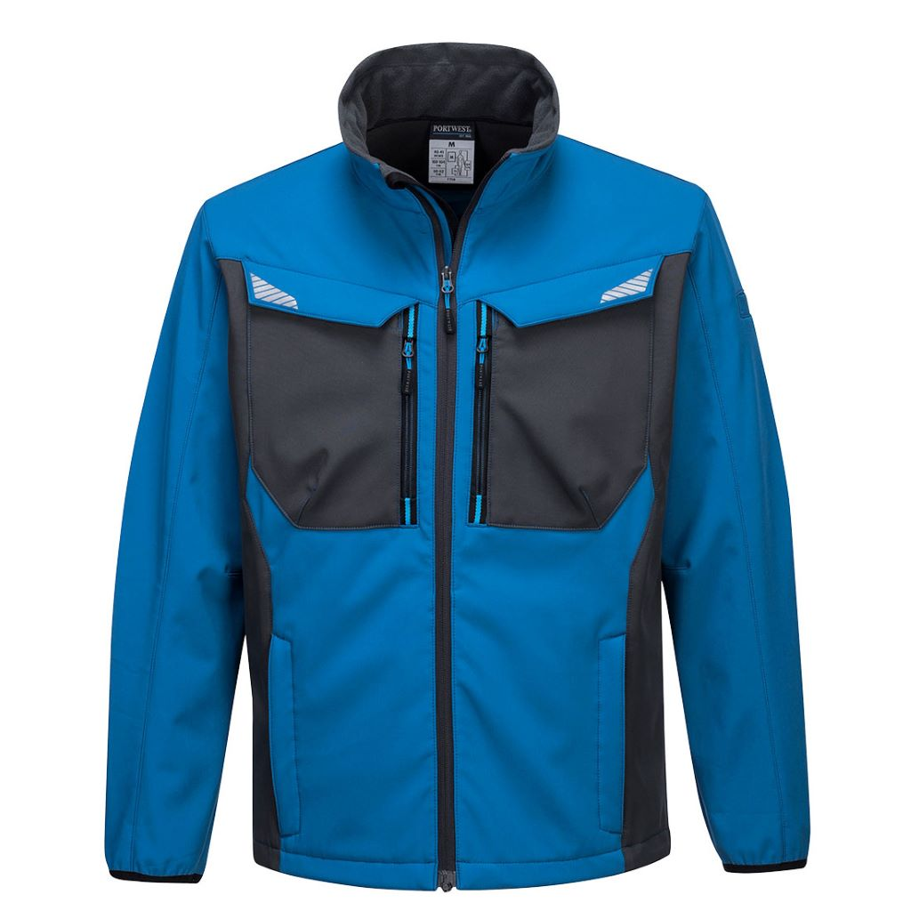 WX3 Softshell Jacket T750 PersianBlue