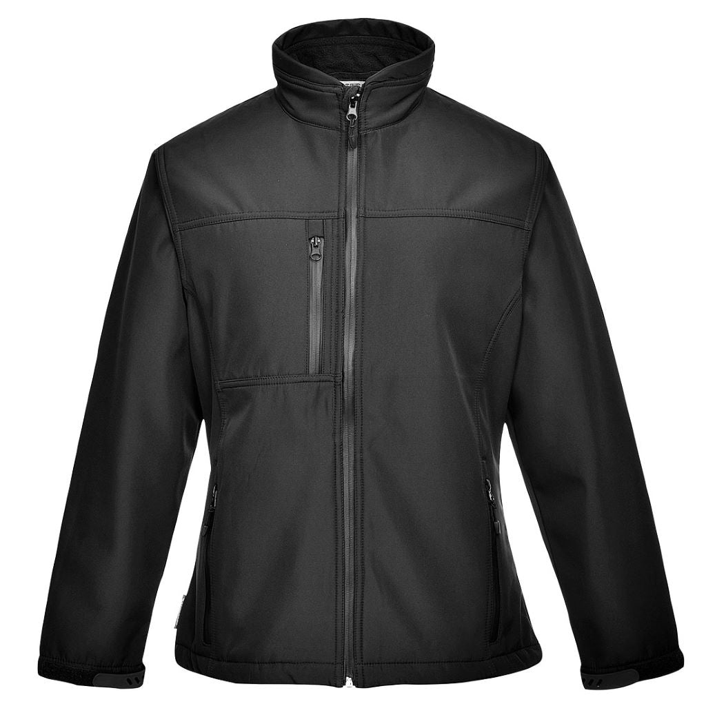 Charlotte Softshell Jacket TK41 Black