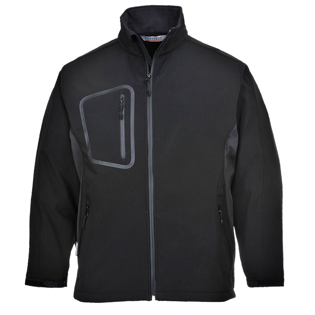 Duo Softshell Jacket TK52 Black