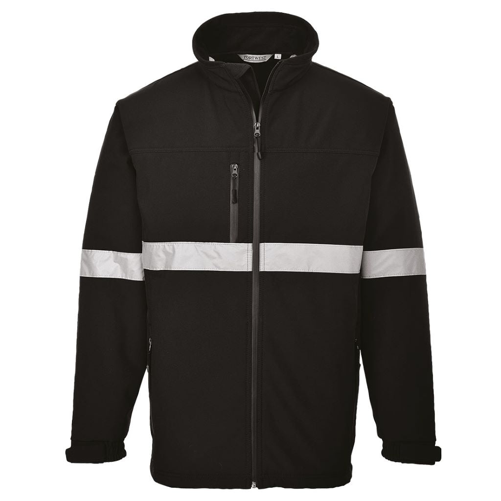 Iona Softshell Jacket TK54 Black