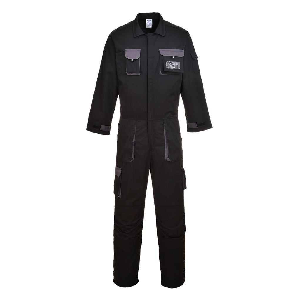 Contrast Coverall TX15 Black