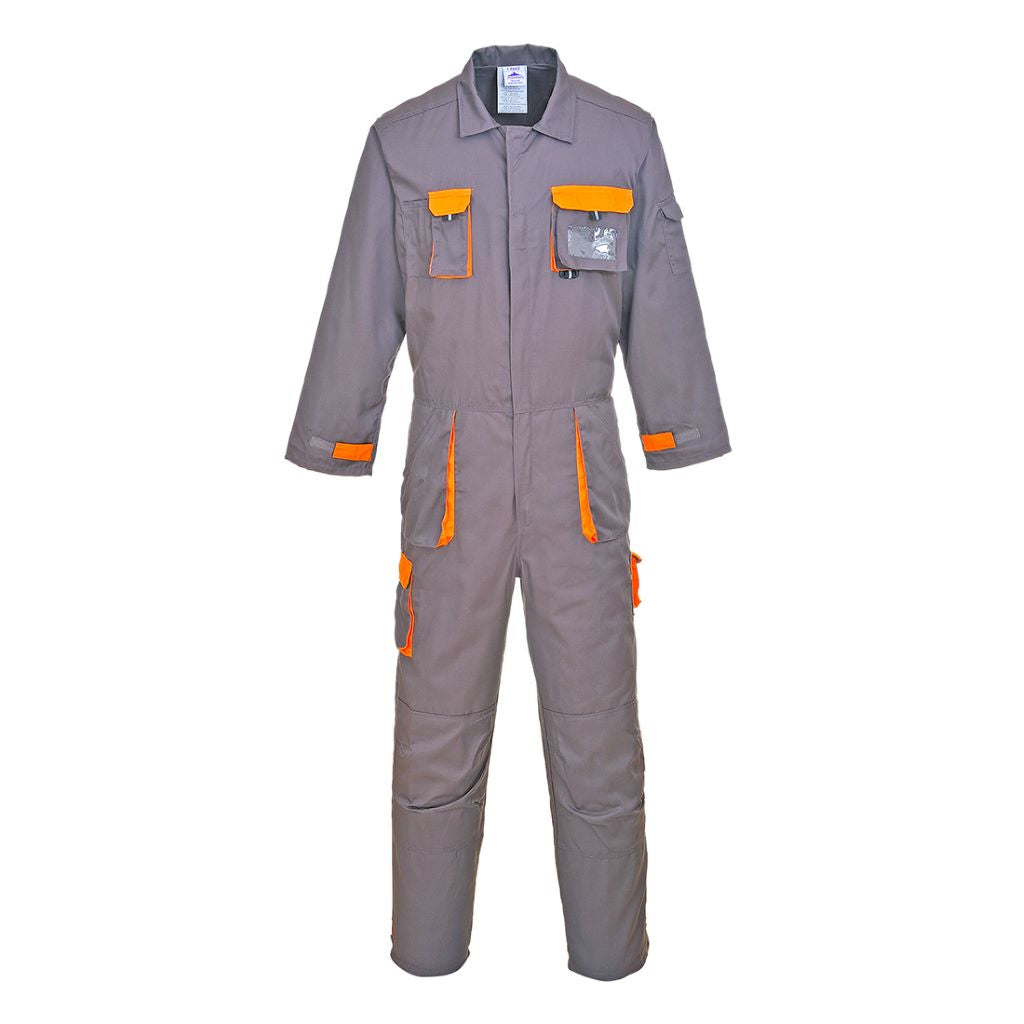 Contrast Coverall TX15 Grey