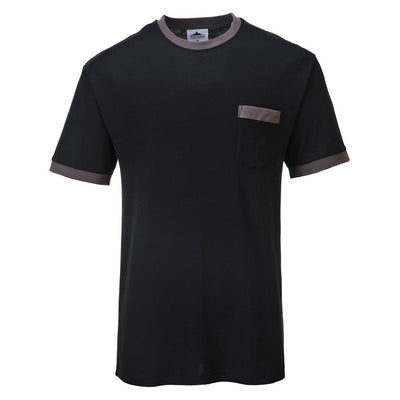 Contrast T-Shirt TX22 Black