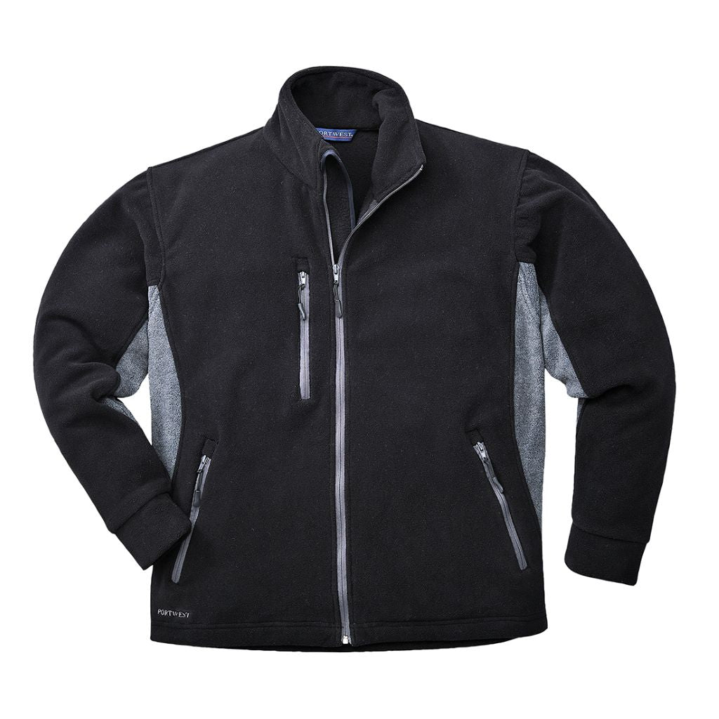 Contrast Fleece TX40 Black