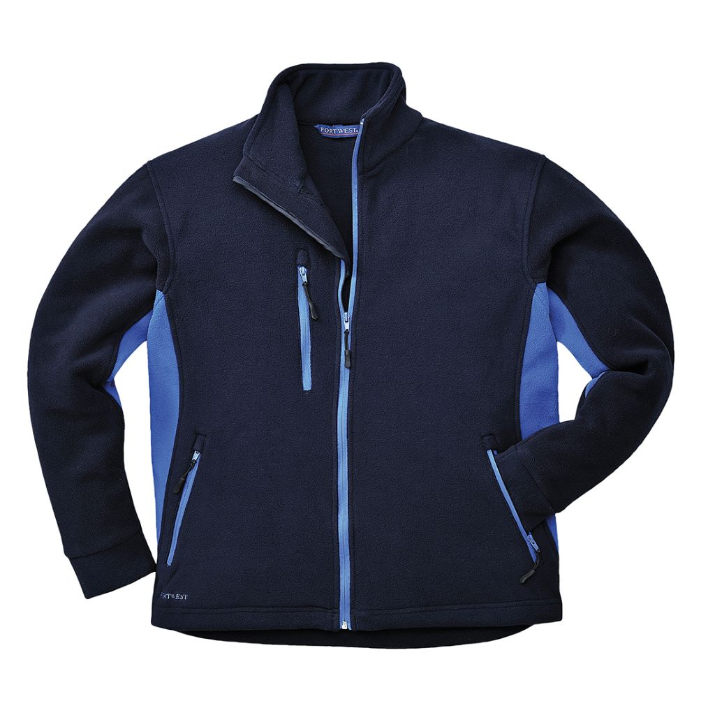 Contrast Fleece TX40 Navy