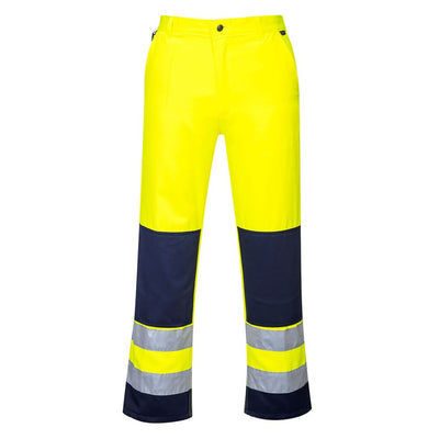Seville Hi-Vis Trousers TX71 YellowNavy