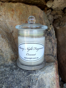 Coconut Scented Soy Candle