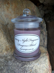 Dragons Blood Scented Soy Candle