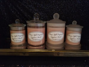 Egyptian Musk Scented Soy Candle
