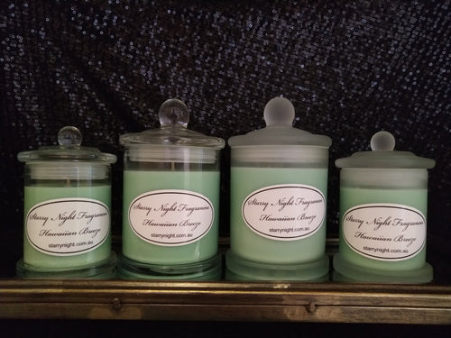 Hawaiian Breeze Scented Soy Candle