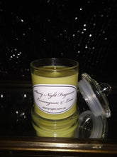 Load image into Gallery viewer, Lemongrass and Lime Scented Soy Candle