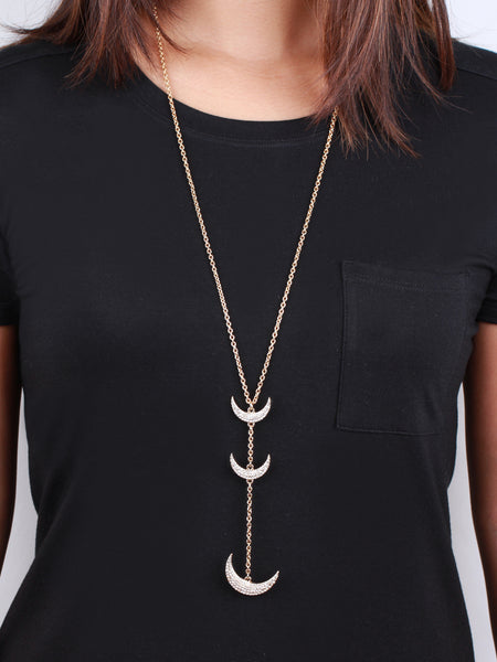 Dixie Y-Necklace - Gold
