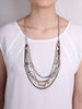 Taboo Convertible Necklace - Gunmetal