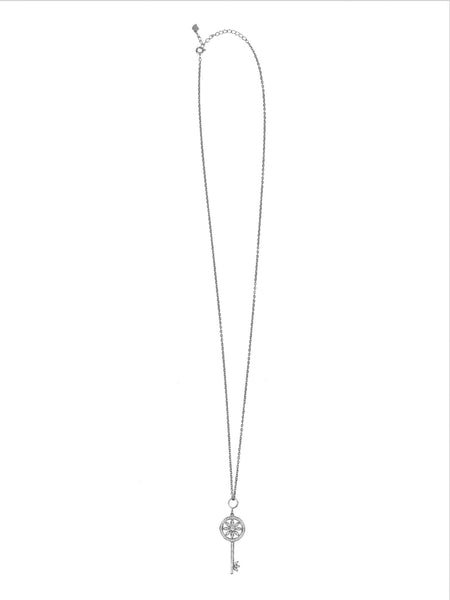 Love Locked Necklace - Silver