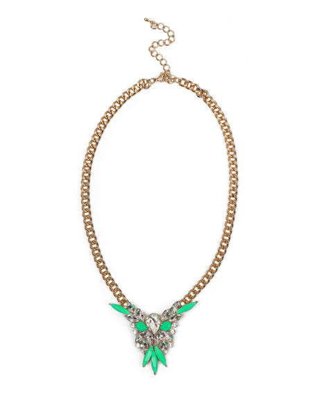 Victory Necklace - Green