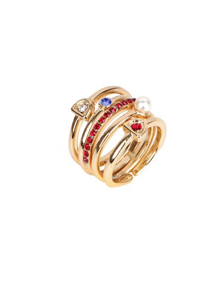 Stella Ring Set - Gold