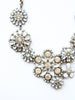 Crystal Garden Bib Necklace
