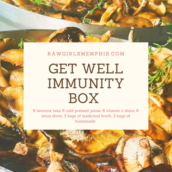 Get Well Immunity Box (ALL ORDERS WILL GO OUT MONDAY Nov. 30th DUE TO HOLIDAY SCHEDULE)