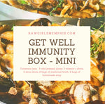 Get Well Immunity Box - MINI  (ALL ORDERS WILL GO OUT MONDAY Nov. 30th DUE TO HOLIDAY SCHEDULE)