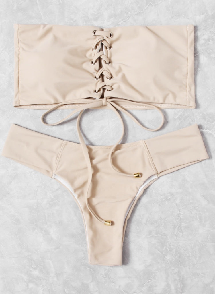 SKINNY DIP NUDE TWO PIECE