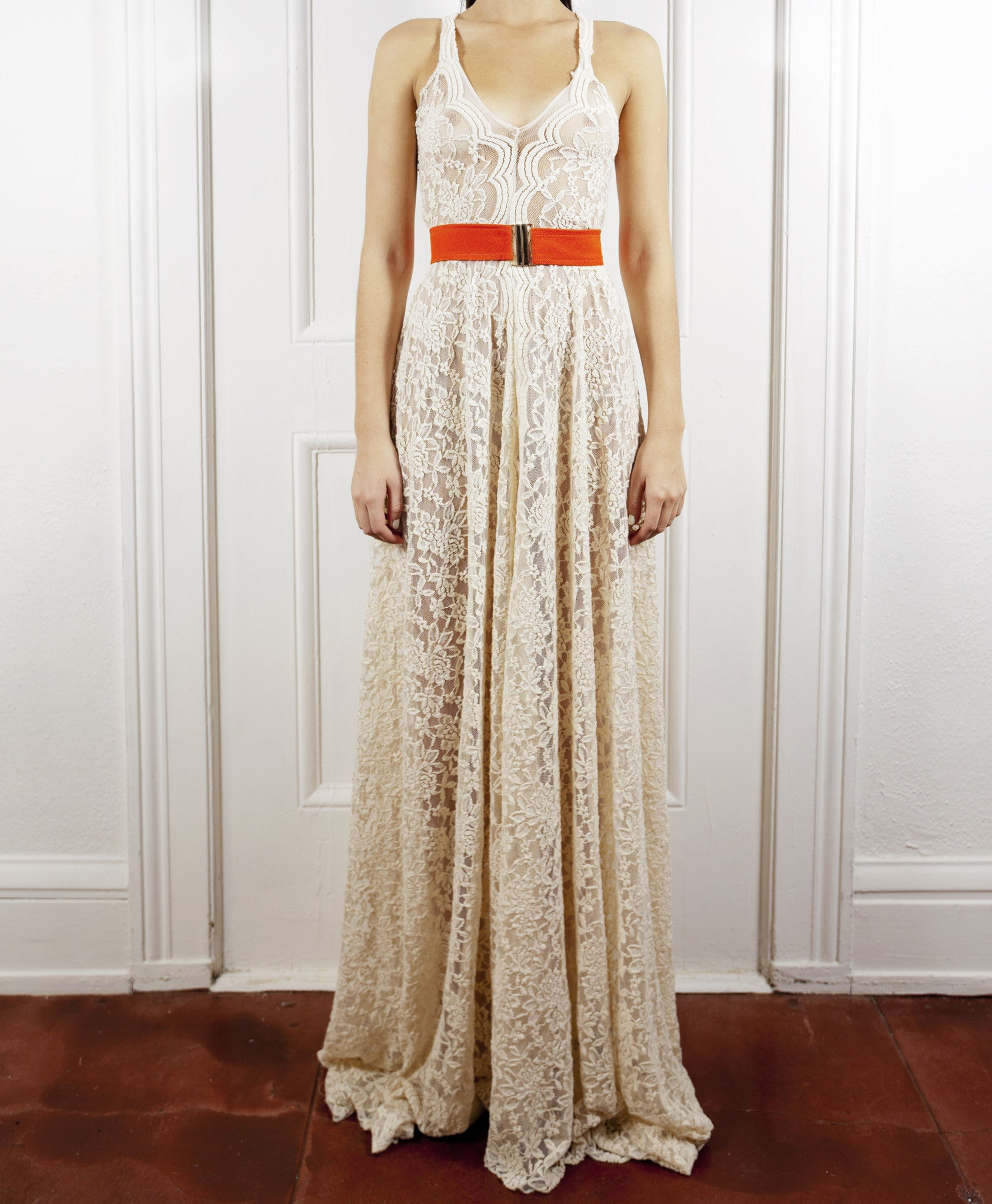 The Rachael Lace Maxi Dress