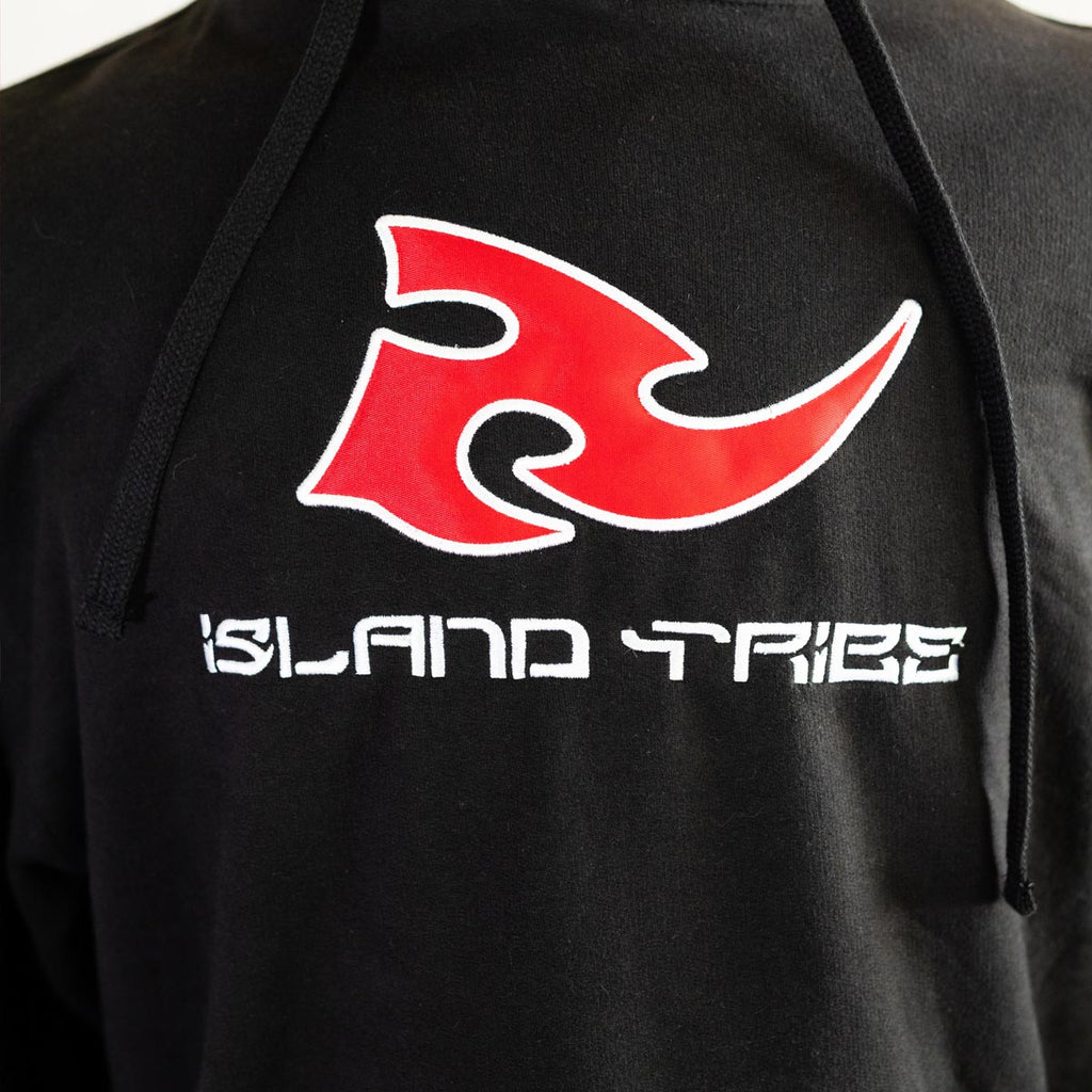 Magma Red/Black Athletic Sweatshirt - IslandTribeCo
