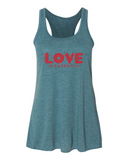 LOVE Women's Razorback Tank Top - IslandTribeCo