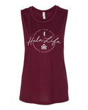 Hip Shakers Women's Flowy Muscle Tank - IslandTribeCo