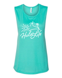 Island Breeze Women's Flowy Muscle Tank - IslandTribeCo
