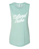 Just Relax Women's Flowy Muscle Tank - IslandTribeCo