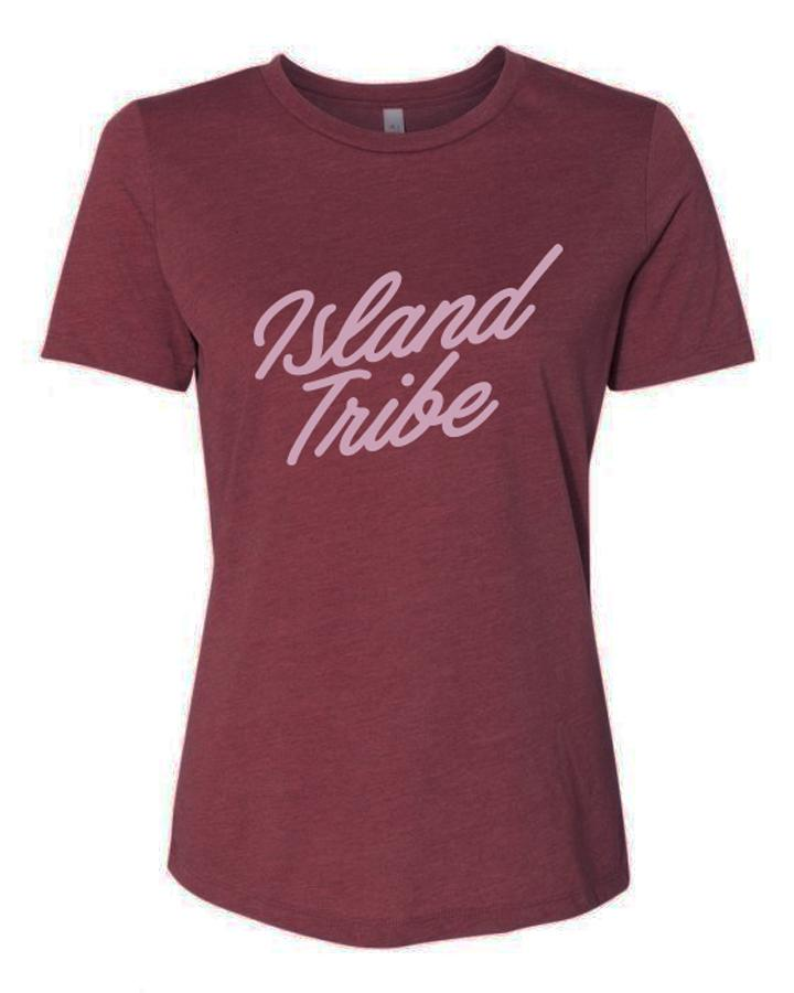 Just Relax Women's Relaxed Jersey Tee - IslandTribeCo