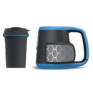DUBSTEIN: Bluetooth® stereo speaker with beverage integration.