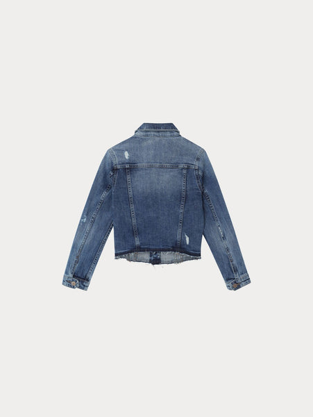 Manning Jacket in Cloud Wash
