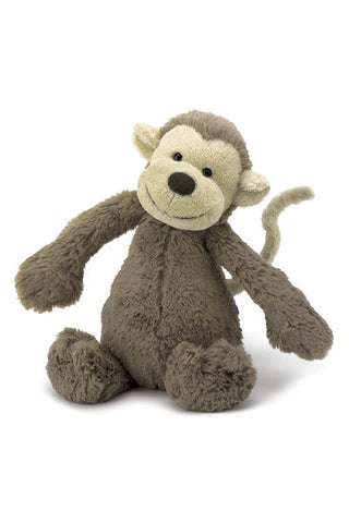 Jellycat Bashful Monkey (Medium)
