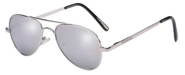 Snapper Rock Silver Aviator Sunglasses