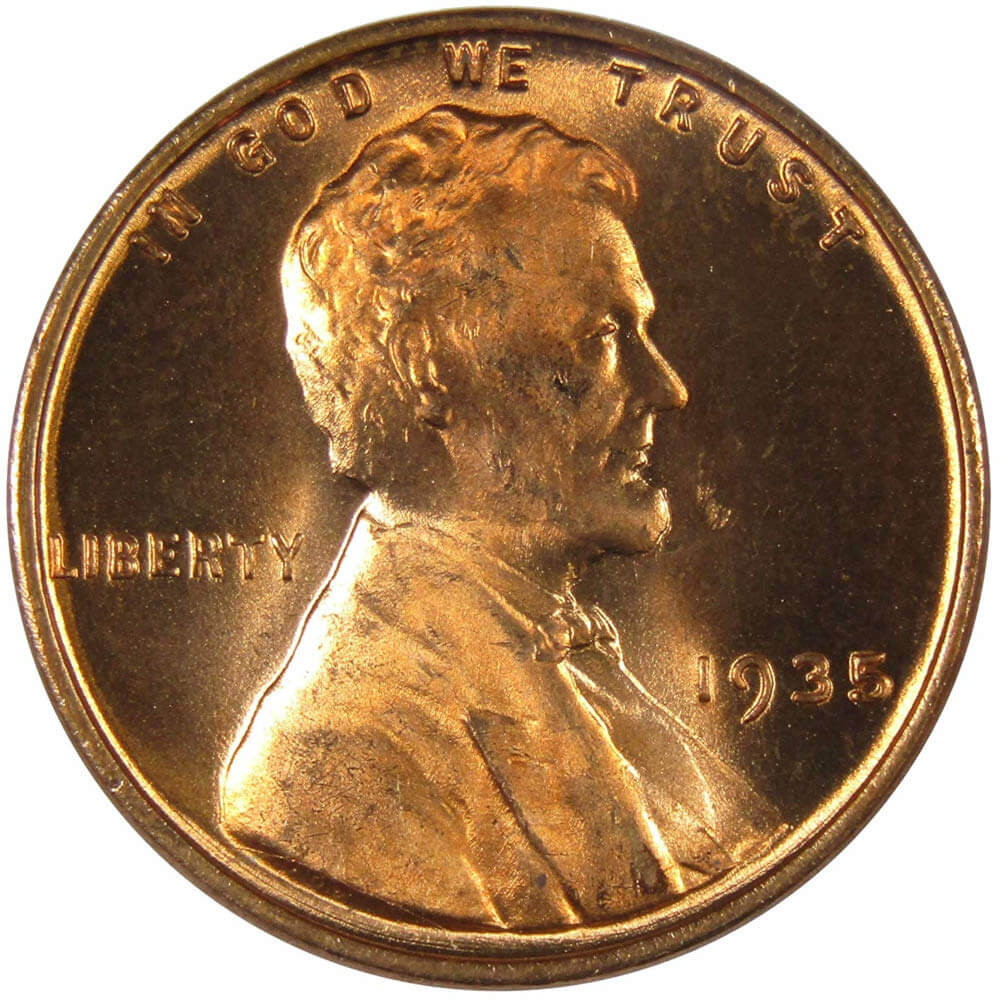 1948 1c Lincoln Wheat Cent Penny US Coin Uncirculated Mint State