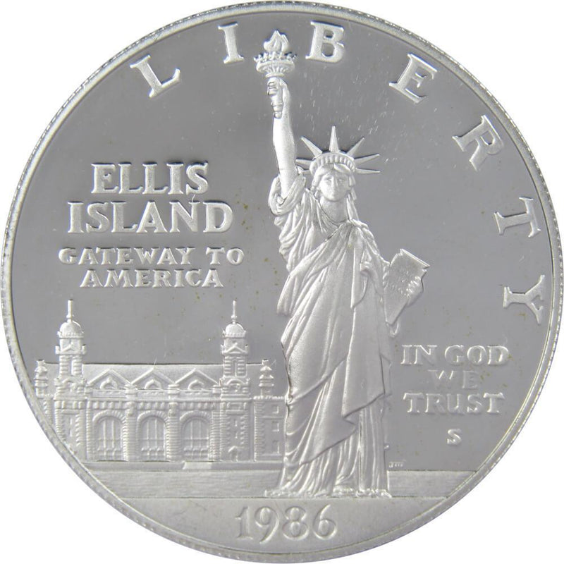 Coin Only 1986 S Statue of Liberty Commemorative Proof  Dollar